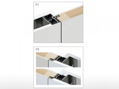 DESIGN 75 IN | OUT frame for swing door
