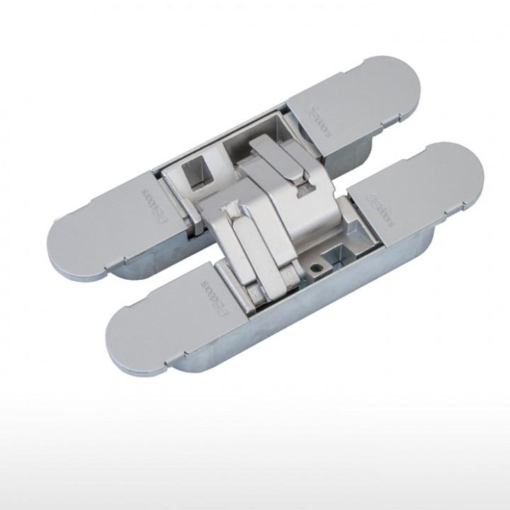 Dobradiça invisível GS – H200 - Champanhe